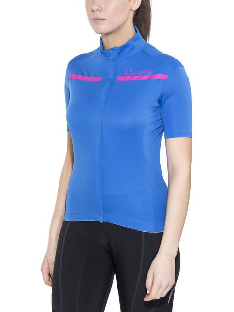 Castelli Imprevisto - Maillot manches courtes Femme - bleu